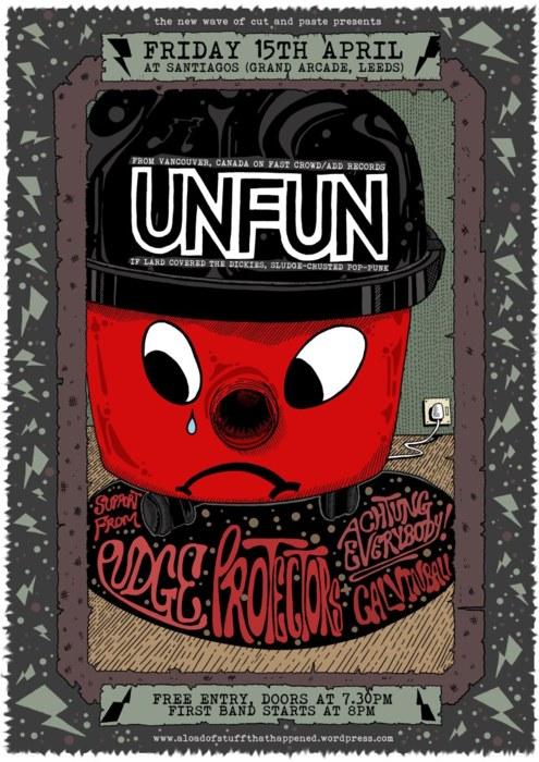 Achtung Everybody, Unfun, Leeds