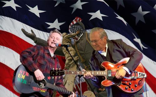 bill bragg donald rumsfeld duet