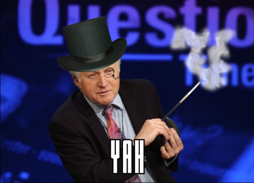 questionable time 5 david dimbleby top hat