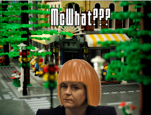 nicola sturgeon lego hair
