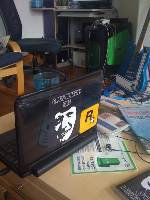 Make your laptop handsome!