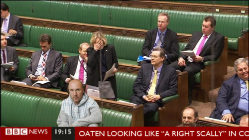 mark oaten scally outfit commons