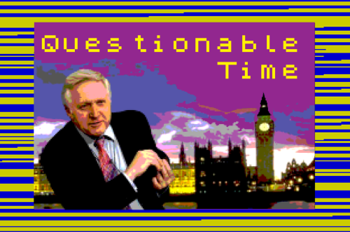 questionable time 45 david dimbley spectrum loading screen