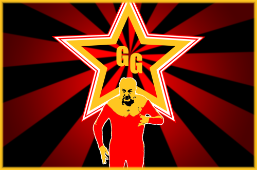 george galloway flag socialist realism