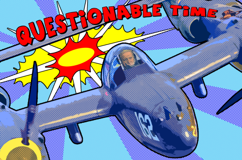 questionable time 51 david dimbleby pop art Lichtenstein