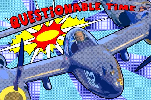 questionable time 51 david dimbleby pop art Lichtenstein