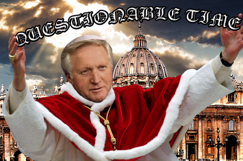 questionable time 52 david dimbleby pope