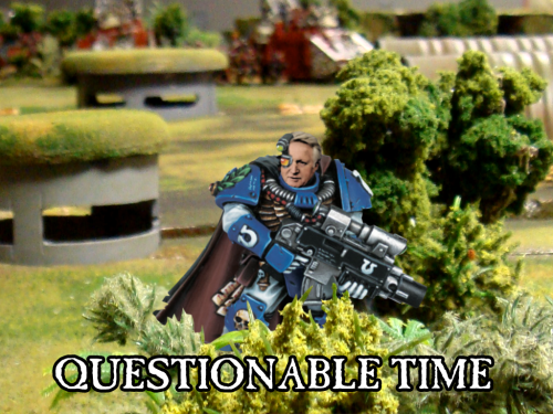 questionable time 61 david dimbleby space marine warhammer 40k