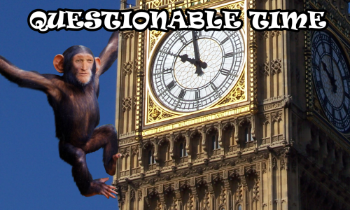 questionable time 68 david dimbleby monkey