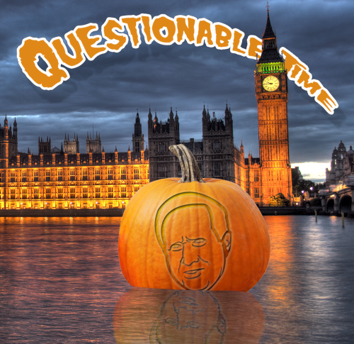questionable time 76 david dimbleby pumpkin
