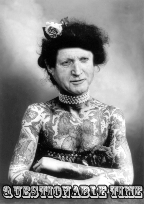 questionable time 79 david dimbleby tattooed woman
