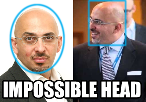 nadhim zahawi impossible head