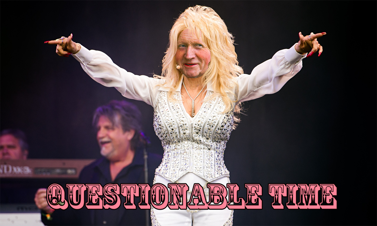 Yay or Nay Dolly Parton Topless